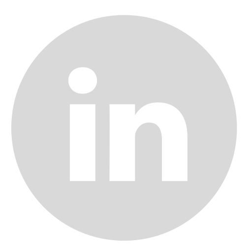 linkedin circle gray 512